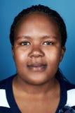 Африканский портрет женщины Стоковые Фотографии RF