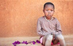 африканский портрет ребенка Стоковые Изображения RF