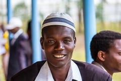 африканский портрет человека Стоковое Изображение RF