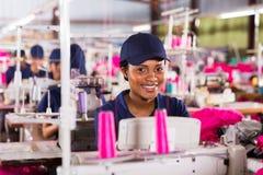 Африканский работник тканья Стоковая Фотография RF