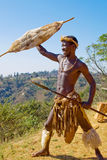 африканский ратник Стоковое Изображение RF