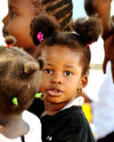 Африканский ребенок школьного возраста Стоковое фото RF