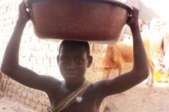 африканский ребенок Стоковое фото RF