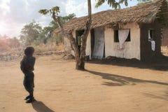 африканский солнечний свет Стоковое Изображение