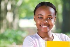 африканский студент Стоковое Изображение