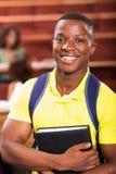 Африканский студент колледжа стоковая фотография