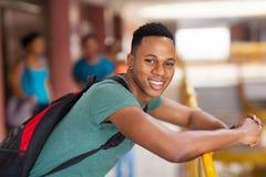 Африканский студент университета Стоковое Изображение RF