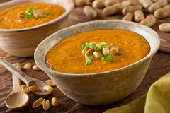 Африканский суп арахиса Стоковые Изображения