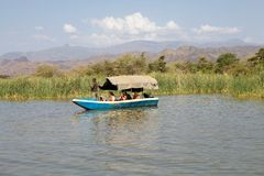 Африканский туризм стоковое изображение rf