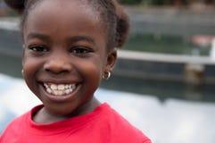 африканский усмехаться ребенка Стоковые Фотографии RF