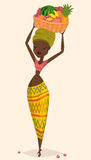Африканский фермер женщины Стоковые Изображения