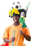африканский футбол вентилятора Стоковые Фото