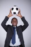африканский футбол вентилятора Стоковая Фотография RF