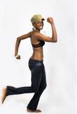 африканский ход девушки Стоковые Изображения RF