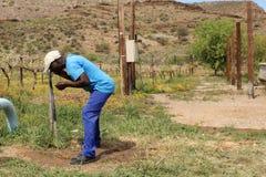 африканский хуторянин Стоковая Фотография