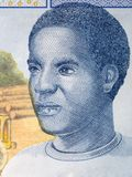 Африканский человек, портрет стоковое изображение