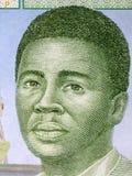 Африканский человек, портрет стоковая фотография rf