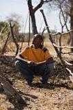 африканский человек Стоковое Изображение RF