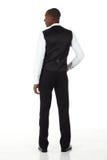 африканский черный бизнесмен Стоковое Фото