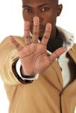 африканский черный бизнесмен Стоковые Изображения
