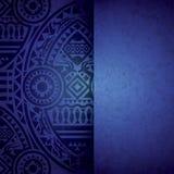 Африканский шаблон дизайна предпосылки. Стоковые Изображения RF