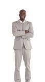 африканским человек америки изолированный делом Стоковые Фото