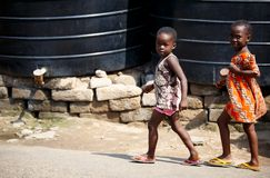 2 африканских девушки Стоковая Фотография RF