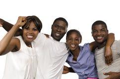 4 африканских друз в утехе Стоковое Изображение RF