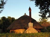 африканское здание Стоковые Фотографии RF