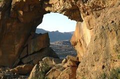 африканское окно карты Стоковая Фотография RF