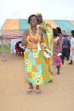 африканское платье традиционное Стоковое фото RF