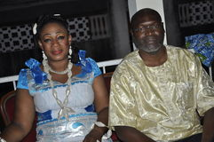 африканское платье традиционное Стоковые Фотографии RF