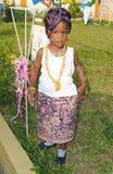 африканское платье Стоковые Изображения RF