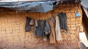 африканское село стоковая фотография rf