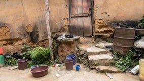 африканское село стоковые фотографии rf