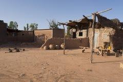африканское село Стоковое Фото
