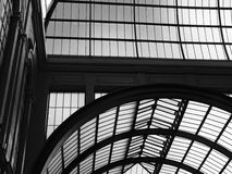 африканское стекло Дании кухни caf внутри knuthenborg смотря крышу ставя на обсуждение вверх Стоковая Фотография