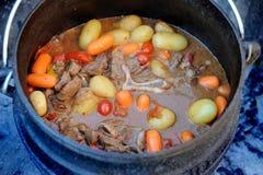 африканское potjie на юг традиционное Стоковые Фото