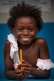 Африка, Сьерра-Леоне, малая деревня Mabendo Стоковая Фотография