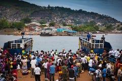Африка, Сьерра-Леоне, Фритаун Стоковая Фотография RF