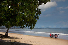 Африка, Сьерра-Леоне, Фритаун Стоковое Фото