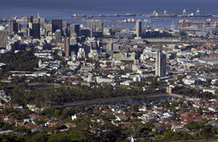 Африка Cape Town южное Стоковое Изображение