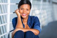 Афро-американская женщина стоковое фото rf