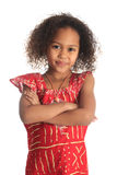афро американская красивейшая девушка детей c черноты Стоковое Фото