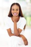 Афро-американская спальня женщины Стоковые Изображения RF