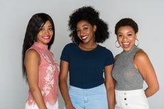 Афро-американские женщины Стоковые Изображения