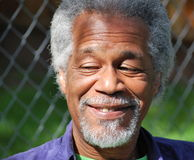 Афро-американские мужские выражения Стоковые Фото