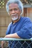 Афро-американские мужские выражения Стоковые Изображения RF