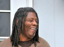 Афро-американский мужчина. Стоковые Изображения RF