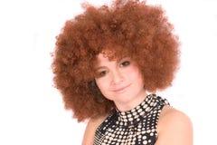 афро парик стоковое изображение